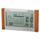 カレンダー電波時計(天気予報機能付き)