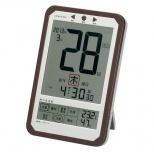デジタル日めくり電波時計(アダプター付属)