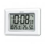 セイコー 温湿度表示デジタル電波クロック(掛置兼用)