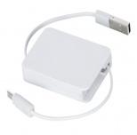 巻き取り式USBケーブル(両面タイプ)