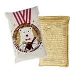 きれいにピカピカ金メダル アルミネットスポンジ