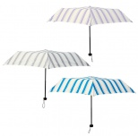 ダブルストライプ折りたたみ傘