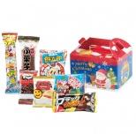 サンタ福笑い お菓子BOX7点セット