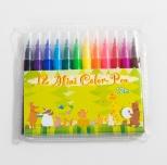 12色ミニカラーペン