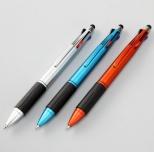 タッチペン付4色ボールペン