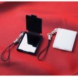 携帯コンパクトミラー(ストラップ付)