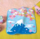 桜ひらり 富士山ハンドタオル
