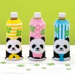 パンダさんペットボトルかバー