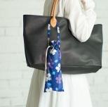 京都くろちく・巾着傘けーす(はっ水加工)