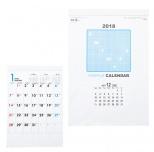 2018シンプル壁掛けカレンダー