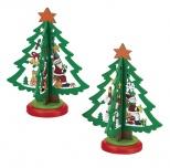 木製ミニクリスマスツリー