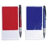タッチペン付ボールペン&携帯ホルダー
