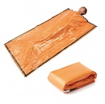 静音アルミ寝袋(オレンジ)