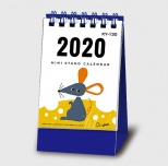 2020年カレンダー ミニスタンド・ね