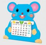 2020年カレンダー ペーパークラフトカレンダー
