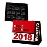 2018年カレンダー スタンドスケジュール