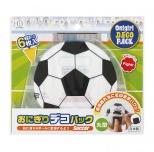 おにぎりデコパック丸型6枚入(サッカーボール)