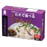 たれで食べる白石温麺(しょうゆ)