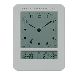 アナログ風デジタル電波時計