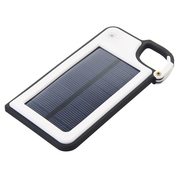 カラビナ付ソーラー充電器