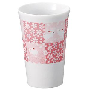 美濃焼 市松桜 タンブラー
