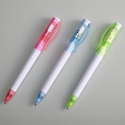 ライト付ボールペン