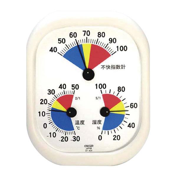 不快指数計付き温湿度計