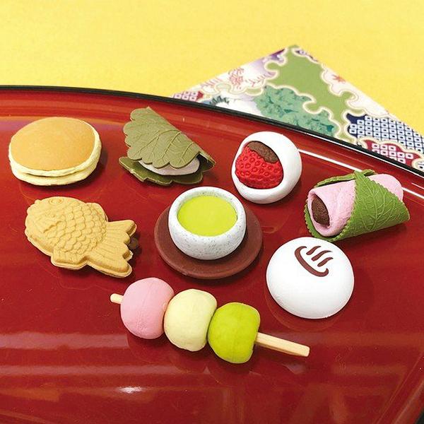 めちゃかわ!和菓子けしごむ