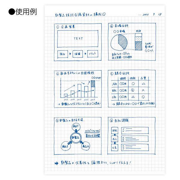 コクヨ 大人キャンパスツインリングノート(方眼罫)(カットオフ) A4
