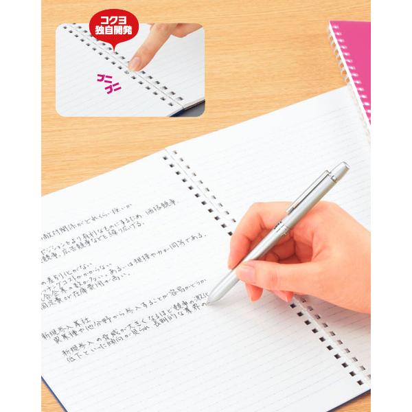 コクヨ ソフトリングノート<カラフル>(ドット入り罫線) A5