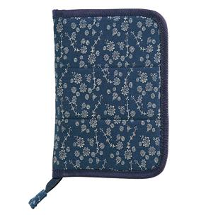 藍小花マルチケース