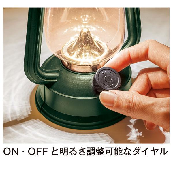 LEDクラシックランタンライト1個