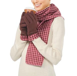 CHIDORI マフラー&手袋セット