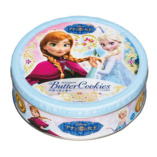 バタークッキー缶(アナと雪の女王)